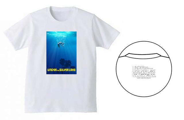 映画「UNDER THE SILVER LAKE」オリジナルコラボTシャツ、発売決定